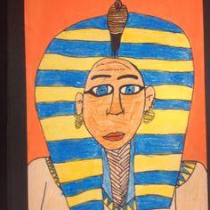 Egyptian Style Portraits. Little Dog Art Blog Arts Ed, My Arts, Ancient Egypt Art, Teacher Blogs, Little Dogs, Dog Art, Art Blog, Egyptian, Art Ideas