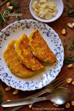 Cachapa (Venezuelan Corn Pancakes)