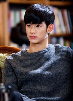 ❤❤ 김수현 Kim Soo Hyun my love ♡♡ as Do Min Joon in My Love From The Star echryl oppa Jun Ji Hyun, Hyun Soo, Lee Hyun Woo, Kim Soo Hyun Abs, Korean Star, Korean Men, Asian Actors, Korean Actors, Korean Dramas
