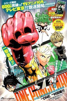 One punch man Opm Manga, Manga Anime, Anime Art, Anime Guys, Poster Anime, Images Murales, Anime Cover Photo, Japanese Poster Design, Manga Covers
