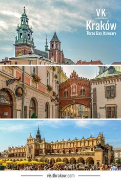 Three days in Kraków lets you explore the key sightseeing districts in the centre of the city and to head out of town for at least one day trip. This is the ideal way to make the most of three days in Kraków.  #visitkrakow #visitpoland Visit Krakow, Visit Poland, One Day Trip, Best Places To Eat, Three Days, Travel Guide, The Good Place, Taj Mahal, Centre