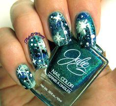 Flight of whimsy: Galaxy Nails