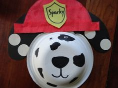 Sparky the Dalmation Bowl Craft