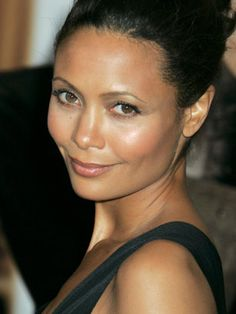 Thandie Newton #black #woman #women #africanamerican #thandienewton #beauty
