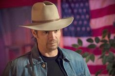 More Raylan, and more of that hat...