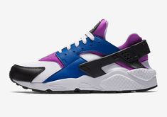 best sneakers 49df1 7eb6d hot nike air huarache blue jay hyper violet black white 318429 415 19f52  c56d0
