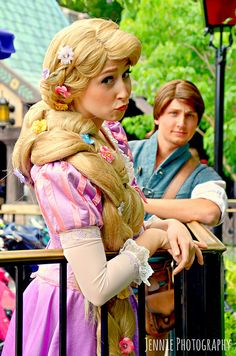 I have this dream of one day being a Disney Princess at Disney World. Or Peter Pan...