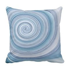 Spiral Decorative Throw Pillow - home gifts ideas decor special unique custom individual customized individualized