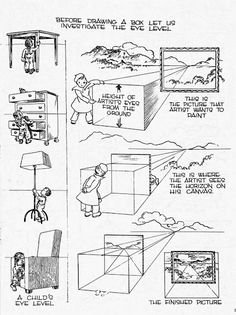 The Helpful Art Teacher: Fun with one point perspective boxes and other geometric forms