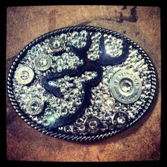 Browning belt buckle