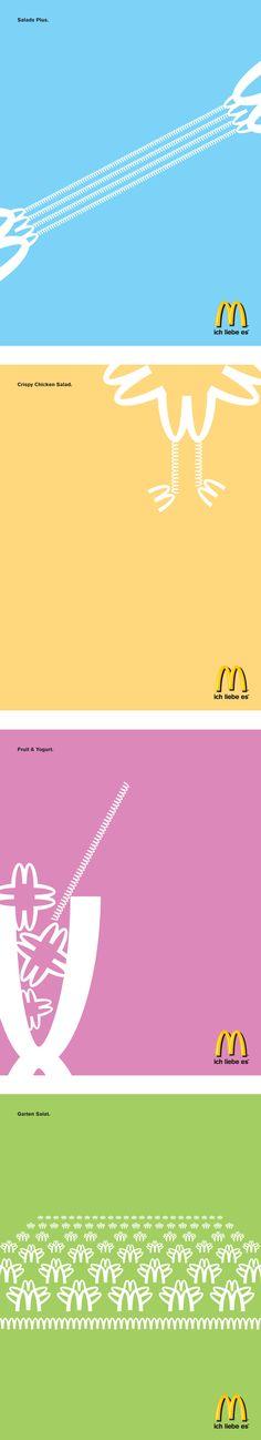 McDonald's ads by David Maninger