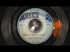 Anna Valentino / On a tropical island.