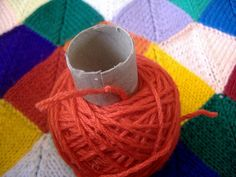 Or with a toilet paper roll. | 26 Clever And Inexpensive Crafting Hacks