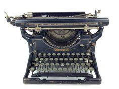Antique 1930s Typewriter Underwood by WyrembelskisVintage on Etsy