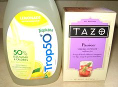 Make your own PassionTea Lemonade for just $0.32