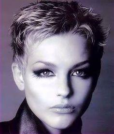 Short Blonde Haircuts. Ladies Trimmed Platinum to Bronde Tresses. Short Blonde Haircuts, Short Choppy Hair, Short Grey Hair, Short Pixie, Pixie Cut, Edgy Pixie, Haircut For Older Women, Short Hair Cuts For Women, Short Hair Styles