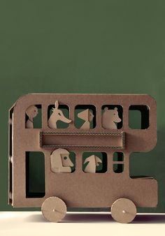 carnetimaginairevialargerloves:  Milimbo, The Cardboard Omnibus