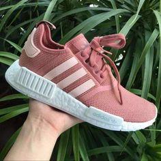 "Women ""Adidas"" Fashion Trending Pink/White Leisure Running Sports Shoes"