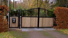 We create premium quality steel and glass balustrade, which gives your home or office a rich look. We specialise in Balustrade for balconies and gardens Driveway Gates For Sale, Electric Driveway Gates, Wrought Iron Driveway Gates, Wood Fence Gates, Timber Gates, Driveway Entrance, Electric Gates, Front Gates, Entrance Gates