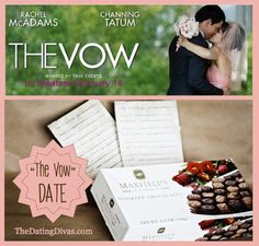 The Vow Date, two great activities with free printables and some romantic meal ideas, too! www.TheDatingDivas.com #TheVow #TheVowDate #DateIdeas