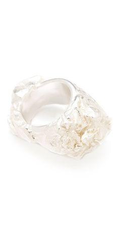 natural rock ring