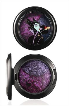Pin for Later: 230 of the Best Collaboration Products MAC Has Ever Created MAC Cosmetics x Venomous Villains: Maleficent Mineralize Eye Shadow Duo in My Dark Magic Mac Makeup Looks, Best Mac Makeup, Eye Makeup, Disney Villains Makeup, Disney Makeup, Disney Villian, Makeup Tutorial Mac, Barbie, Makeup Designs