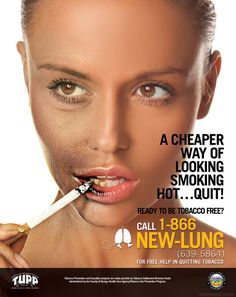 30 Brilliant Anti Smoking Advertisements for your inspiration - Best Posters and Campaigns | Read full article: http://webneel.com/30-brilliant-anti-smoking-advertisements-your-inspiration-best-print-ads-and-posters | more http://webneel.com/advertisements | Follow us www.pinterest.com/webneel