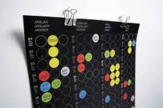Image result for innovative calendar designs