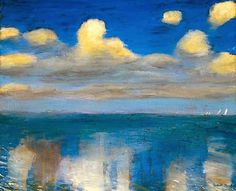 If you like, see also Emile Nolde  part II      Hay Meadow     Wheat Field (ca 1900)      Light Sea Mood, 1901        Blaue Stimmun...