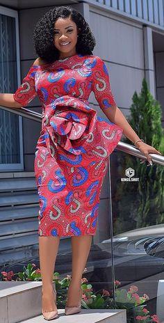 Ankara office wear dress Source by africavarsities The post Ankara dress By Zahra Delong appeared first on 2019 Trends. Nigerian Dress Styles, Ankara Dress Styles, African Fashion Ankara, Latest African Fashion Dresses, African Dresses For Women, African Print Dresses, African Print Fashion, African Attire, Blouse Styles