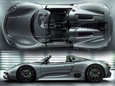 Porsche 918 Spyder. Unbeliaveble...it's a hybrid!!!