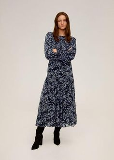 S Mango France, Blouse Online, Dress With Boots, Sheer Fabrics, Black Blouse, Shirt Blouses, Blouses For Women, Wrap Dress, Floral Prints