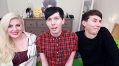 Look at how perfect Louis and Phil look, then there's Dan.