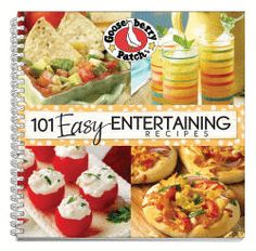 101 Easy Entertaining Recipes Cookbook, now available as an eBook for your Kindle, Nook, Apple, Kobo & Sony devices!