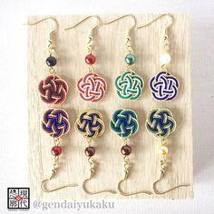 ・ 「梅結びの水引ピアス」 秋冬に向けてこっくりとした新色製作しました。 (画像下段4色) もちろん、お洋服やお着物に合わせて春夏秋冬お使いいただけます☆ ・ The plum shaped earrings made of Mizuhiki .  New color debut of autumn and winter!! ・ #現代悠廓 #ハンドメイド #水引 #ピアス #イヤリング #水引アクセサリー #アクセサリー #和 #和装 #着物 #浴衣 #秋冬 #2016aw #カラー #新色  #gendaiyukaku #mizuhiki #handmade #japanese #japanesecraft #japanesestyle #japanesefashion #fashion #accessories #earrings #newcolor #kimono