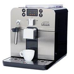 Fully Automatic Coffee Machine Super Espresso Latte Cappuccino Black Gaggia New #Gaggia #EspressoMachine