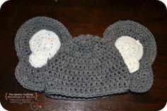 Newborn Baby Heffalump Crochet Pattern