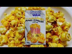 キャラメル×チーズポップコーン ASMR Eating Chicago popcorn Caramel & cheese
