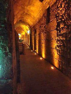 Western Wall Tunnels | Inside the Western Wall Tunnels.