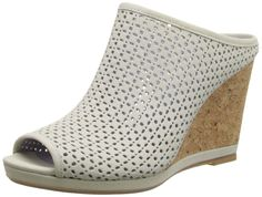 Johnston  and  Murphy Women's Meagan Slide Wedge Sandal ^^ Review more details here : Wedge sandals