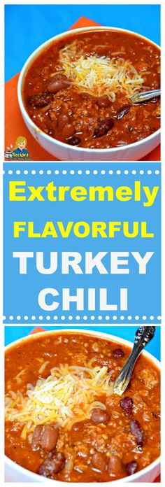 FLAVORFUL TURKEY CHILI You will never know it is turkey and not beef. I am determined to help you make this recipe turn out delicious the first time you prepare it. You Should See This Delicious Flavorful Turkey Chili Recipe Here: https://recipesforourdailybread.com/flavorful-turkey-chili/