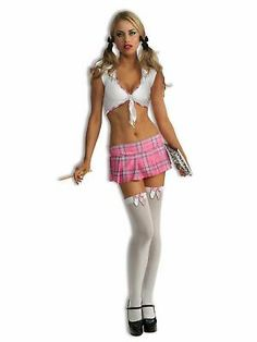The Sexy Womens School Girl Pink Costume is the best 2019 Halloween costume for you to get! Everyone will love this Womens costume that you picked up from Wholesale Halloween Costumes! Pink Costume, Dress Up Costumes, Girl Costumes, Costumes 2015, Party Costumes, Sexy Costumes For Women, Sexy Halloween Costumes, Halloween Party, Naughty School Girl Costume
