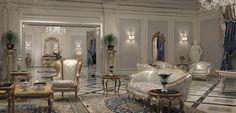 Arredamento ville: il contract nel classico di lusso, artigianato e tecnolgia