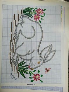 Cross Stitch Animals, Ely, Cross Stitch Patterns, Bullet Journal, Embroidery Sampler, Cross Stitch Art, Mariana, Toddler Girls, Pink