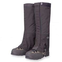 Outdoor Research Crocodile Gaiters. For really gnarly conditions or snow hiking.