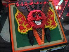 Topeng Ondeleak - Lego Mask of Indonesia