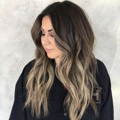 33 Ideas Hair Trends 2018 Brunette Fall For 2019 Brunette Makeup, Balayage Brunette, Balayage Hair, Brunette Hair, Bayalage, Winter Hairstyles, Pretty Hairstyles, Wedding Hairstyles, Men's Hairstyle