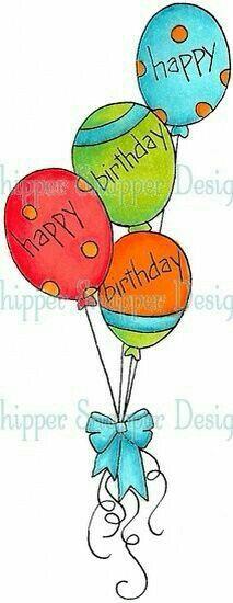 Happy Birthday Balloons Pic Beautiful 274 Best Happy Birthday Balloons Images In 2019 Funny Happy Birthday Wishes, Best Birthday Quotes, Birthday Wishes And Images, Happy Wishes, Happy Birthday Balloons, Happy Birthday Greetings, Birthday Fun, Birthday Clipart, Birthday Sentiments