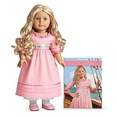 American Girl Doll New Caroline Doll & Book