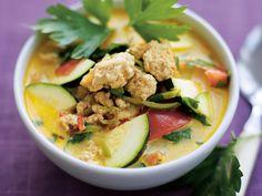 Kycklingsoppa med citrongräs och koriander | Recept från Köket.se